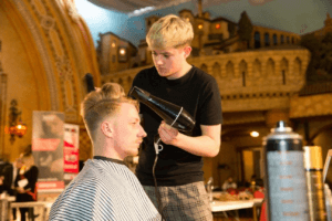 Men's Blowdry Competition
