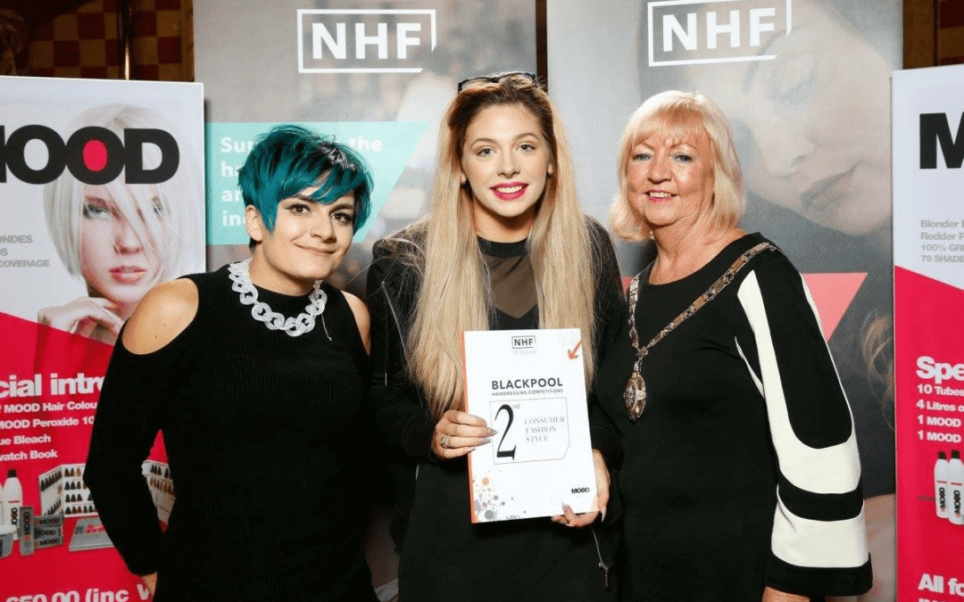 NHF Blackpool Hairdressing Competition.